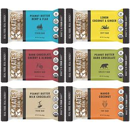 Kate's Real Food Organic Energy Bars, Non-GMO, All-Natural Ingredients, Gluten-Free and Soy-Fre...   Amazon (US)