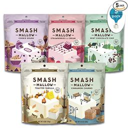 S'more Better Variety Pack by SMASHMALLOW   Snackable Marshmallows   Gluten Free   Non-GMO   Orga...   Amazon (US)