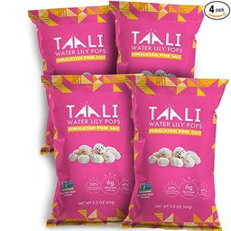 Taali Himalayan Pink Salt Water Lily Pops (4-Pack) - Classic Flavor from the Mountains   Protein-...   Amazon (US)