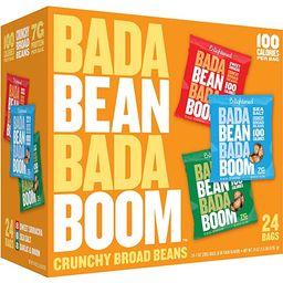 Bada Bean Bada Boom - Plant-Based Protein, Gluten Free, Vegan, Crunchy Roasted Broad (Fava) Bean ...   Amazon (US)