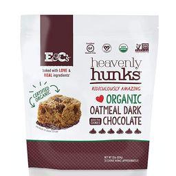 E&C's Snacks Heavenly Hunks - Certified Organic Gluten-Free Oatmeal Dark Chocolate Cookies (22 ...   Amazon (US)