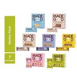 MadeGood Healthy Snacks Variety Pack - 7 Box Mix of Granola Bars, Granola Mini Snack Packs, Crisp...   Amazon (US)
