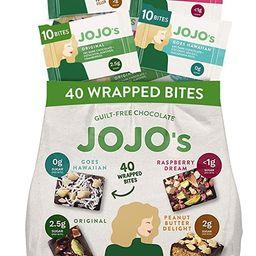 JOJO's Dark Chocolate Bites Made with Hemp, Plant Based Protein, Low Sugar, Low Carb, Vegan, Pale...   Amazon (US)