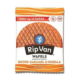 Rip Van Wafels Dutch Caramel & Vanilla Stroopwafels - Healthy Snacks - Non GMO Snack - Keto Frien...   Amazon (US)