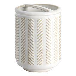 Better Homes & Gardens Textured Ceramic Toothbrush Holder   Walmart (US)