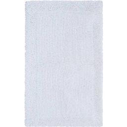 "Hotel Style Cotton Blend Solid Bath Rug, 17"" x 24"", White   Walmart (US)"
