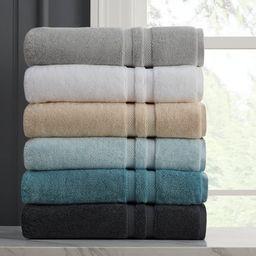 Hotel Style Turkish Cotton Bath Towel Collection, Bath Towel, Granite - 1 Piece   Walmart (US)
