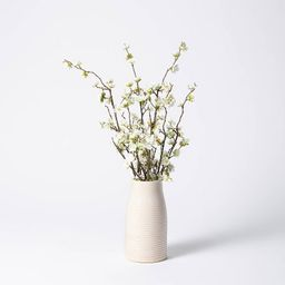 """24"""" x 16"""" Artificial Dogwood Branch Arrangement in Pot - Threshold™ designed with Studio McGee   Target"""