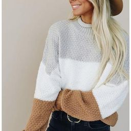 Emily Striped Sweater   Indigo Closet