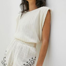 Mariella Embroidered Shorts | Anthropologie (US)