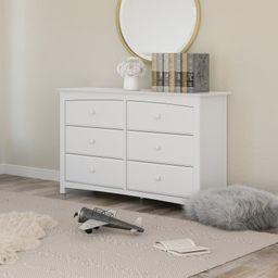 Kenton 6 Drawer Double Dresser   Wayfair North America