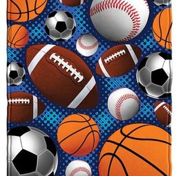 Dawhud Direct Sports Super Fan Fleece Throw Blanket | Amazon (US)