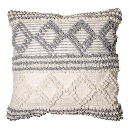 """Better Homes & Gardens, Neutral Textured Decorative Throw Pillow, 20""""x20""""   Walmart (US)"""
