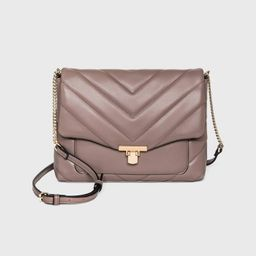 Metal Clasp Closure Boxy Large Crossbody Bag - A New Day™ | Target