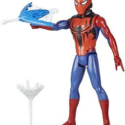Spider-Man Marvel Titan Hero Series Blast Gear Action Figure Toy with Blaster, 2 Projectiles and ... | Amazon (US)
