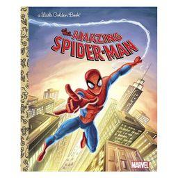 The Amazing Spider-Man (Marvel: Spider-Man) - (Little Golden Book) by  Frank Berrios (Hardcover) | Target