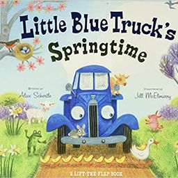 Little Blue Truck's Springtime    Board book – Lift the flap, January 2, 2018   Amazon (US)