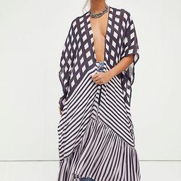 Kenna Ruffle Kimono   Free People (US)