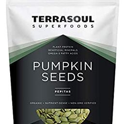 Terrasoul Superfoods Organic Pumpkin Seeds, 2 Lbs - Premium Quality | Fresh | Raw | Unsalted | Amazon (US)