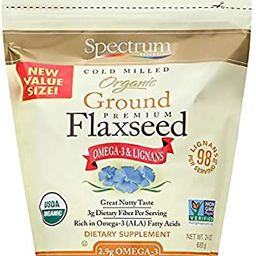 Spectrum Essentials Organic Ground Premium Flaxseed, 24 Oz | Amazon (US)