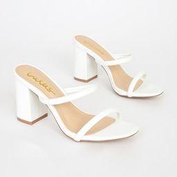 Addien White High Heel Sandals | Lulus (US)