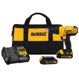 DEWALT20-Volt Max 1/2-in Drill (Charger Included and 2-Batteries Included) | Lowe's