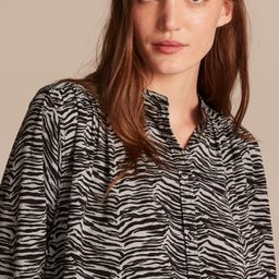 Mini Tiger Blouse | Rebecca Taylor