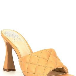 Reselm Quilted Leather Mules | Dillards