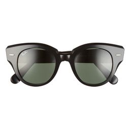 Ray-Ban Roundabout 47mm Round Sunglasses | Nordstrom | Nordstrom