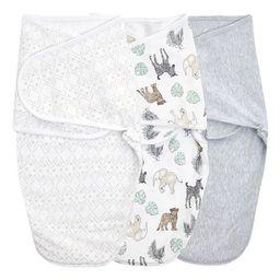 Aden + Anais Essentials Swaddle Blanket Neutral toile - S/M 3pk | Target