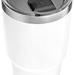 YETI Rambler 30 oz Stainless Steel Vacuum Insulated Tumbler w/MagSlider Lid, White | Amazon (US)