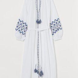 Embroidered Kaftan Dress | H&M (US)