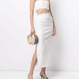 Yves strapless dress | Farfetch (US)