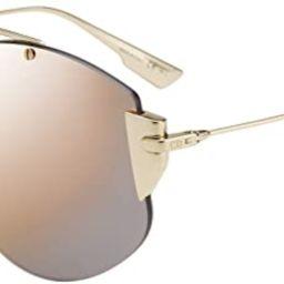 Dior DIOR STRONGER GOLD/GREY GOLD 58/18/145 women Sunglasses | Amazon (US)