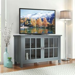 """Better Homes & Gardens Oxford Square TV Stand for TVs up to 55"""", Blue   Walmart (US)"""