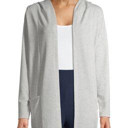 Como Blu Women's Athleisure Sweatshirt Cardigan | Walmart (US)