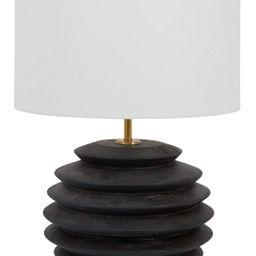 Willow Round Lamp - Ebony | Jayson Home