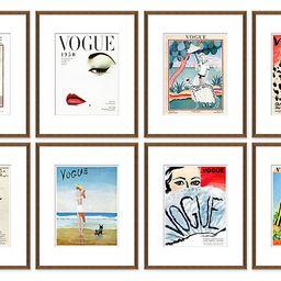 Vogue Magazine Covers, Set of 8 | One Kings Lane