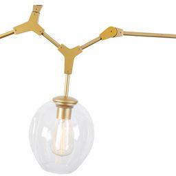 Janson 3 - Light Sputnik Modern Linear Chandelier | Wayfair North America