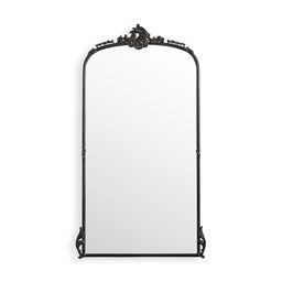 Amelie Floor Mirror in Black | Arhaus