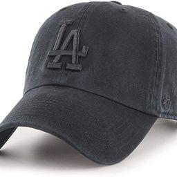 '47 Brand Strapback Cap - Clean UP LA Dodgers Black Washed | Amazon (US)