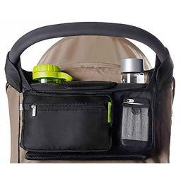Ethan & Emma Universal Baby Stroller Organizer with Insulated Cup Holders for Smart Moms. Diaper ...   Amazon (US)