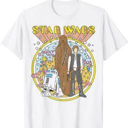 Star Wars Vintage Psych Rebels T-Shirt   Amazon (US)
