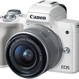Canon EOS M50 Mirrorless Vlogging Camera Kit with EF-M 15-45mm Lens, 4K Video, Built-in Wi-Fi, NF... | Amazon (US)