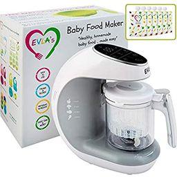 Baby Food Maker | Baby Food Processor Blender Grinder Steamer | Cooks & Blends Healthy Homemade B... | Amazon (US)