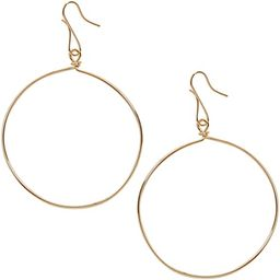 Humble Chic Circle Dangle Earrings - Hypoallergenic Geometric Thin Round Drop or Tear-Drop Shaped... | Amazon (US)