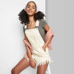 Women's Denim Shortalls - Wild Fable™ | Target