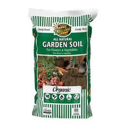 Kellogg Garden Organics 2 cu. ft. All Natural Garden Soil for Flowers and Vegetables-6850 - The H... | The Home Depot