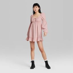 Target/Women/Women's Clothing/DressesWomen's Long Sleeve Milkmaid Dress - Wild Fable™Shop al... | Target