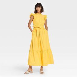 Target/Women/Women's Clothing/DressesWomen's Ruffle Short Sleeve A-Line Dress - Who What Wear... | Target